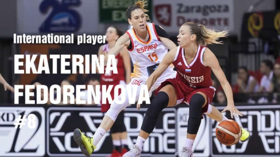 Russian International Basketball Player #8